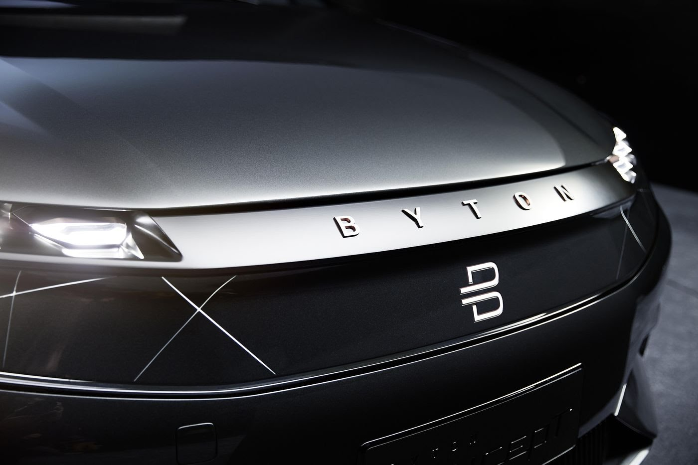 Chinese automaker Byton unveils classy electric vehicle