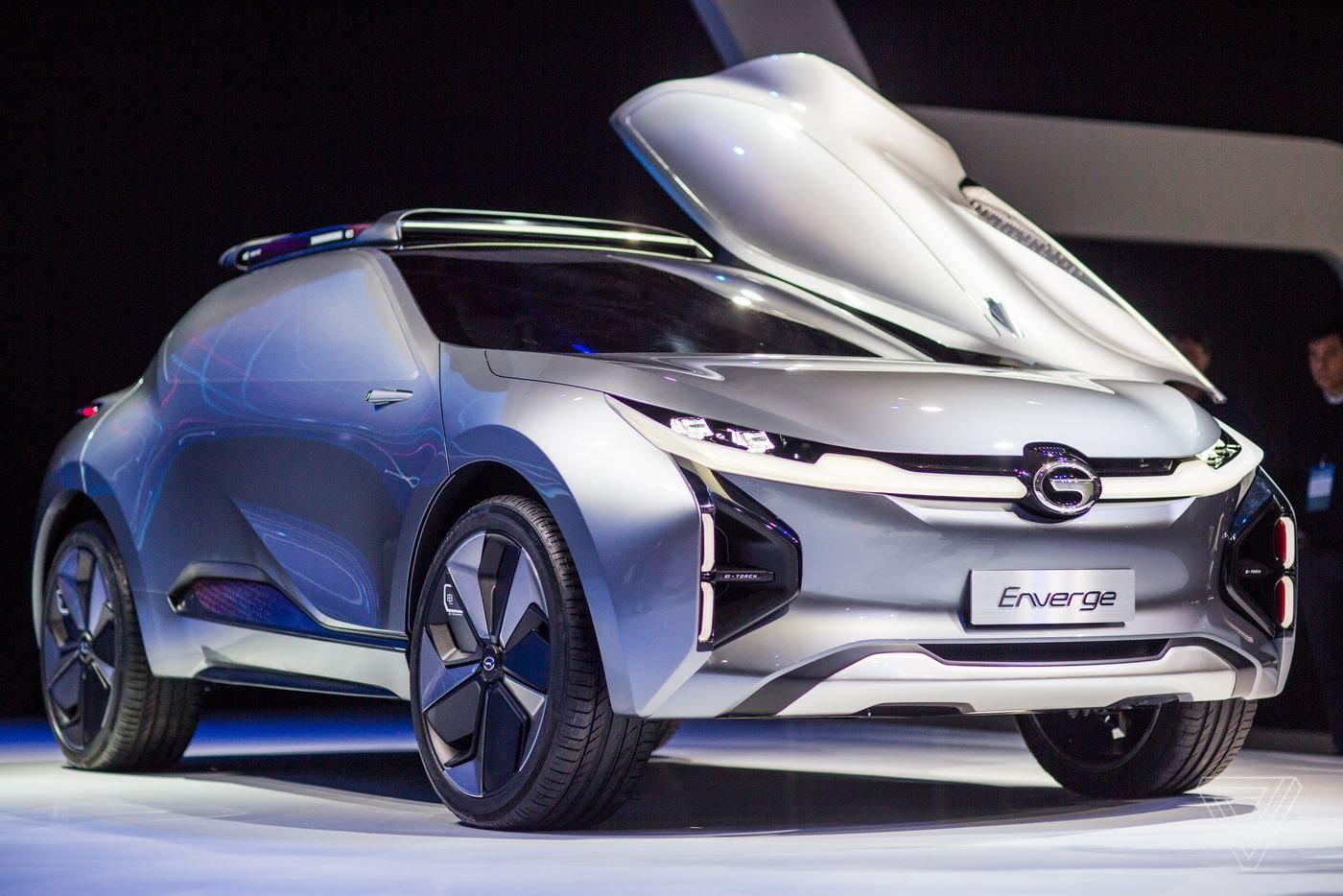 GAC Enverge electric concept car